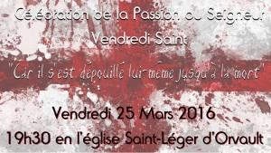 Vendredi Saint 2016